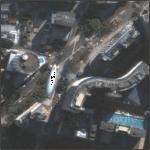 Blimp over Edifício Copam and Terraço Itália (Google Maps)