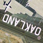 Oakland on the tarmac (Google Maps)