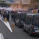 Spanish fishermen protest (30.05.2008) (StreetView)