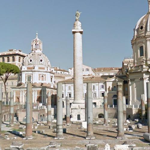 Trajan's Column (StreetView)