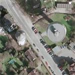 Hatzfelder Water Tower (new & old) (Google Maps)