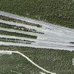 Jet car test site (Google Maps)