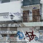 Graffiti expression through words (StreetView)