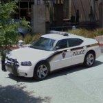 Dodge Charger police car (StreetView)