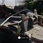 Anchors being transported (StreetView)