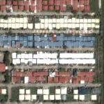 Red, White & Blue town (Google Maps)