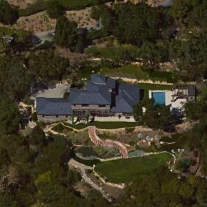 Michael Keaton S House In Santa Barbara Ca Virtual