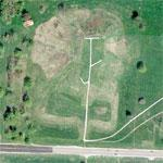 Cahokia Indian Mounds (Google Maps)