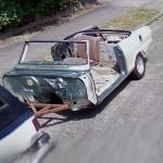Nice car trailer (StreetView)