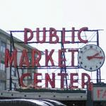 Pike Place Market Sign (StreetView)