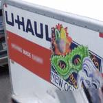 U-Haul rental trailers - New Orleans