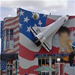 Space Shuttle model on a Gift Shop (StreetView)