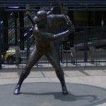 Willie Stargell statue (StreetView)