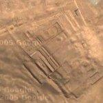 Temple of the Sun, Pachacamac (Google Maps)