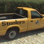Pittsburgh Steelers pickup truck