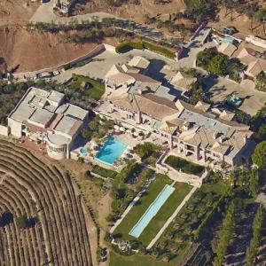 Jeff Greene's House (Google Maps)