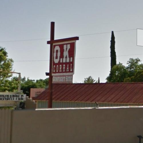 Gunfight at the O.K. Corral (StreetView)