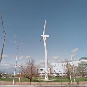 Wind Turbine at Great Lakes Science Center (StreetView)