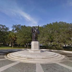 White Point Garden Confederate Statue (StreetView)