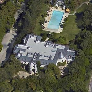Michael Jackson's House (former) (Google Maps)