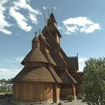Gol Stave Church (StreetView)