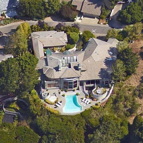 Photo: house/residence of the cool 300 million earning TIburon, California-resident