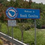 Welcome to South Carolina (StreetView)