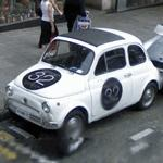 Fiat 500 (StreetView)