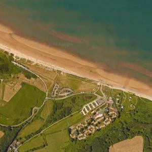 Omaha Beach (Google Maps)