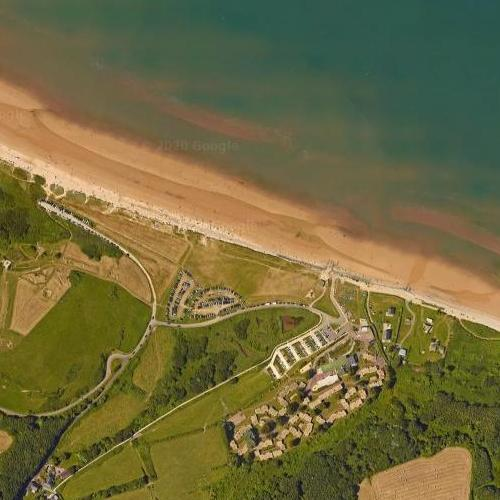 Omaha Beach (Google Maps)