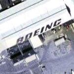 Boeing on building (Google Maps)