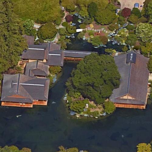Larry Ellison S Estate In Woodside Ca Google Maps