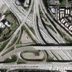 Orange Crush Intersection (Google Maps)