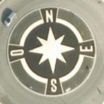 Compass rose (Google Maps)