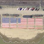 US flag (Google Maps)