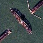 Dumbarton Cutoff train bridge (Google Maps)