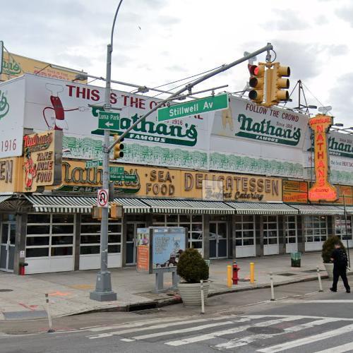 Nathan's Famous Frankfurters original store (StreetView)
