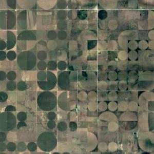 Crop Irrigation Circles (Google Maps)