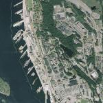 Naval Submarine Base New London (Google Maps)