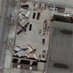6 planes on static display at the Aviation high school Hanger (Google Maps)