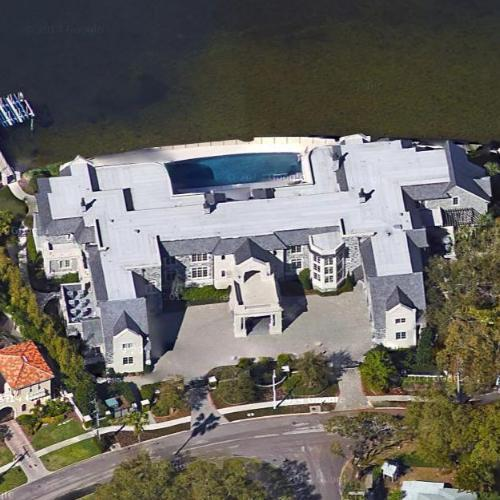 Derek Jeter's House (Google Maps)