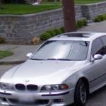 BMW e39 M5 (StreetView)