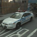 NYPD police car (StreetView)