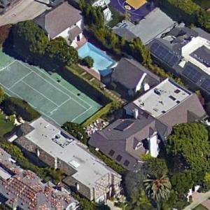 Debbie Allen & Norm Nixon's House (Google Maps)
