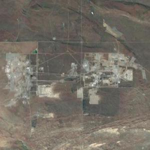 Hanford Nuclear Site (Google Maps)