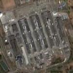 Largest aluminum smelter in the US (Google Maps)
