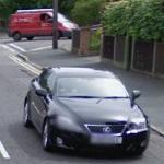 Lexus IS-F (StreetView)