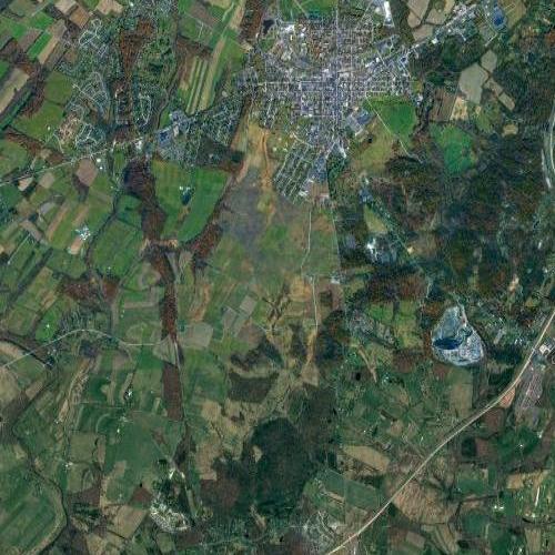 Gettysburg (Google Maps)