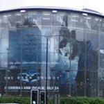 Enormous 'The Dark Knight' Advertisement