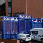 'Rangers Football Club' at Ibrox Stadium